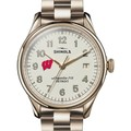 Wisconsin Shinola Watch, The Vinton 38mm Ivory Dial - Image 1