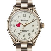 Wisconsin Shinola Watch, The Vinton 38mm Ivory Dial