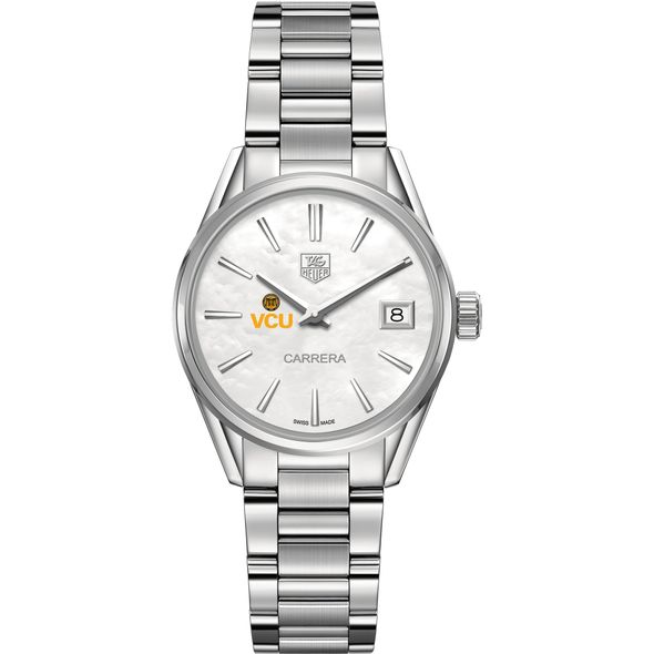 Virginia Commonwealth University Women's TAG Heuer Steel Carrera with MOP Dial - Image 2