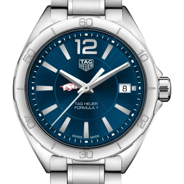 University of Arkansas Women's TAG Heuer Formula 1 with Blue Dial
