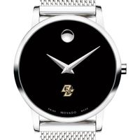 Boston College Women's Movado Museum with Mesh Bracelet