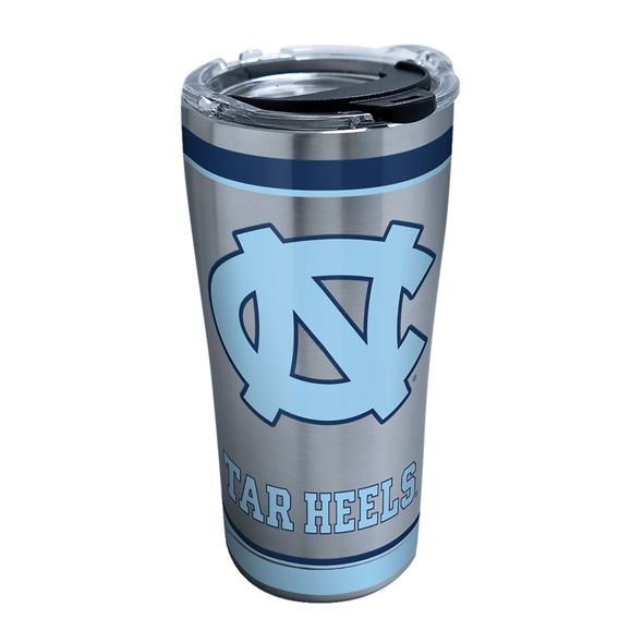 UNC 20 oz. Stainless Steel Tervis Tumblers with Hammer Lids - Set of 2