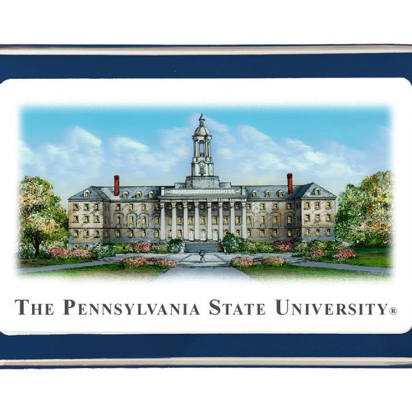 Penn State Eglomise Paperweight - Image 2