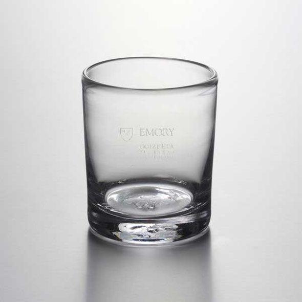 Emory Goizueta Double Old Fashioned Glass by Simon Pearce
