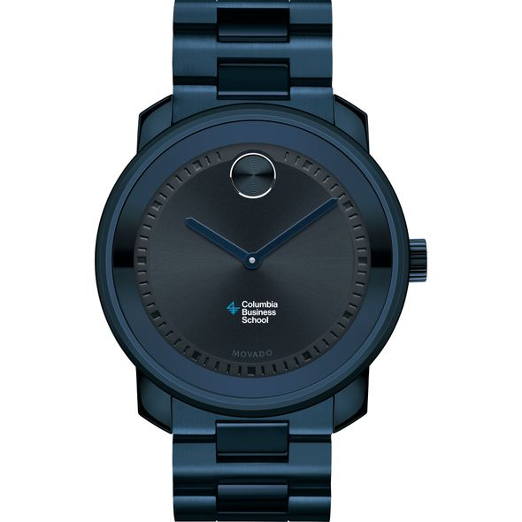 Columbia Business School Men's Movado BOLD Blue Ion with Bracelet - Image 2
