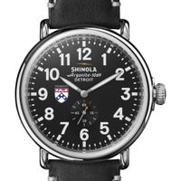 Wharton Shinola Watch, The Runwell 47mm Black Dial