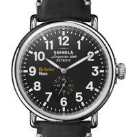 Berkeley Haas Shinola Watch, The Runwell 47mm Black Dial
