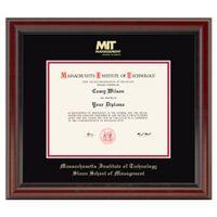 MIT Sloan Diploma Frame, the Fidelitas