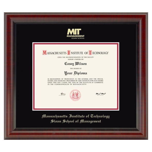 MIT Sloan Diploma Frame, the Fidelitas - Image 1
