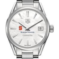 Syracuse University Women's TAG Heuer Steel Carrera with MOP Dial
