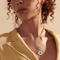USAFA Amulet Necklace by John Hardy with Classic Chain and Three Connectors - Image 4