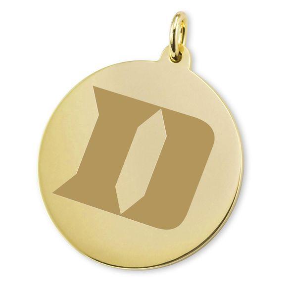Duke 18K Gold Charm