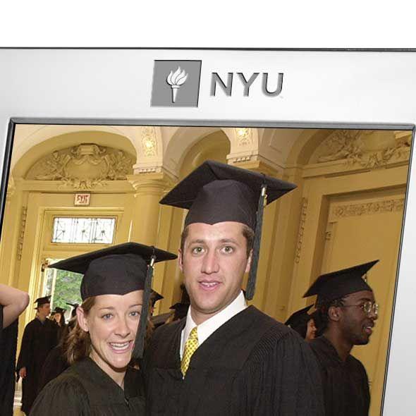 NYU Polished Pewter 8x10 Picture Frame - Image 2