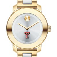 Texas Tech Women's Movado Two-Tone Bold