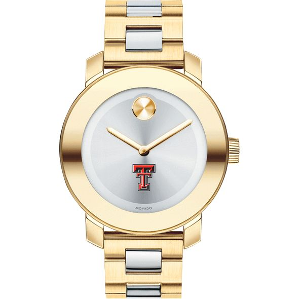 Texas Tech Women's Movado Two-Tone Bold - Image 2