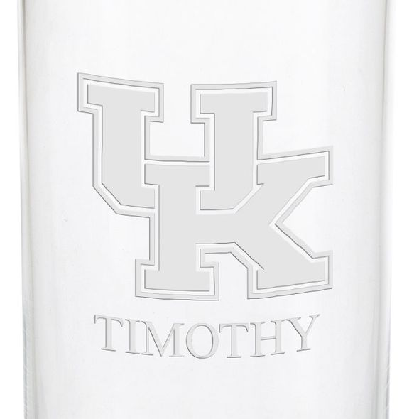 University of Kentucky Iced Beverage Glasses - Set of 4 - Image 3