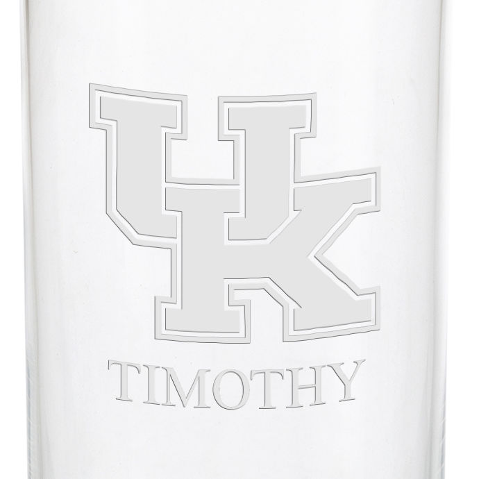 University of Kentucky Iced Beverage Glasses - Set of 4 - Image 3