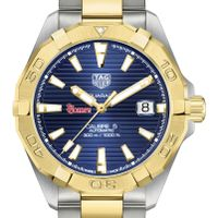 St. John's Men's TAG Heuer Automatic Two-Tone Aquaracer with Blue Dial