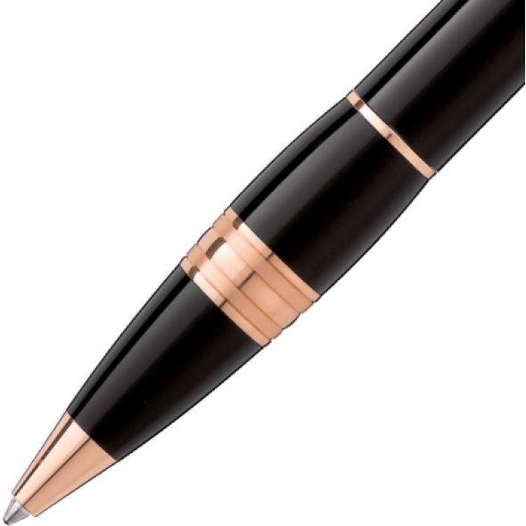 Davidson College Montblanc StarWalker Ballpoint Pen in Red Gold - Image 3