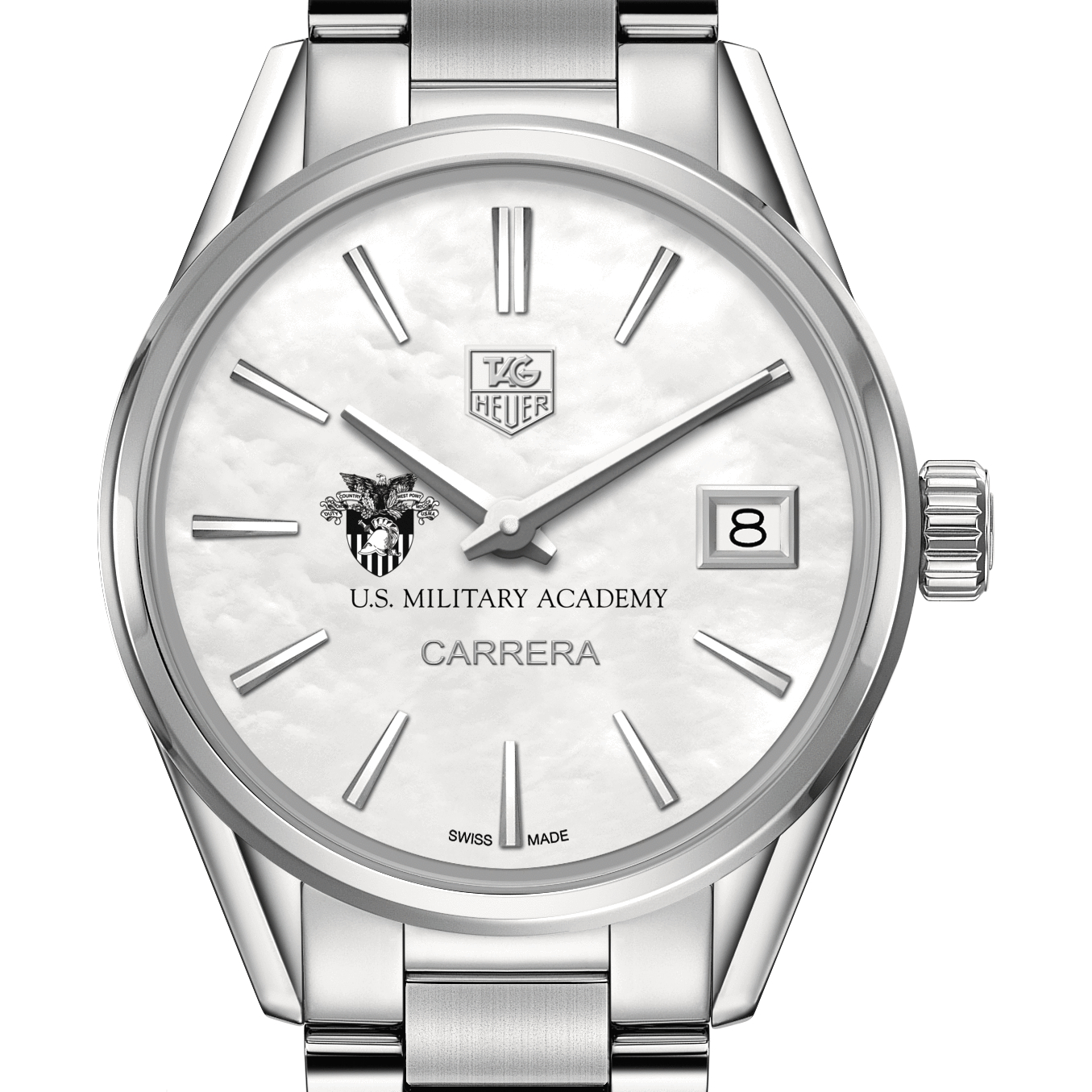 West Point Women's TAG Heuer Steel Carrera with MOP Dial