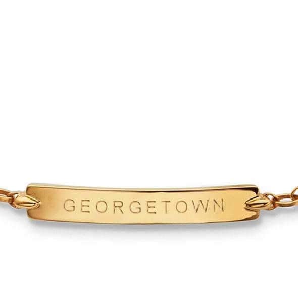 Georgetown Monica Rich Kosann Petite Poesy Bracelet in Gold - Image 2