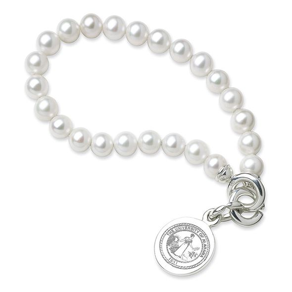 Alabama Pearl Bracelet with Sterling Silver Charm