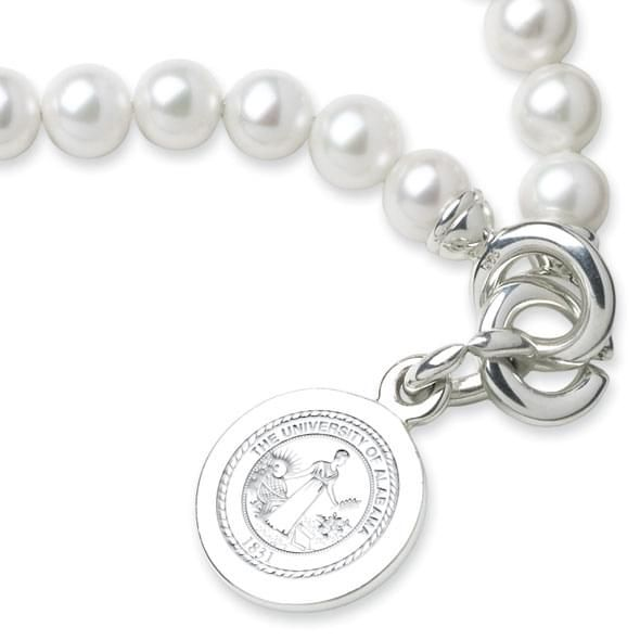 Alabama Pearl Bracelet with Sterling Silver Charm - Image 2