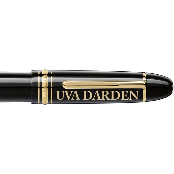 UVA Darden Montblanc Meisterstück 149 Fountain Pen in Gold - Image 2