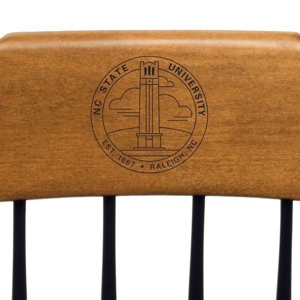 NC State Captain's Chair by Standard Chair - Image 2