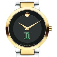 Dartmouth College Men's Movado Two-Tone Modern Classic Museum with Bracelet