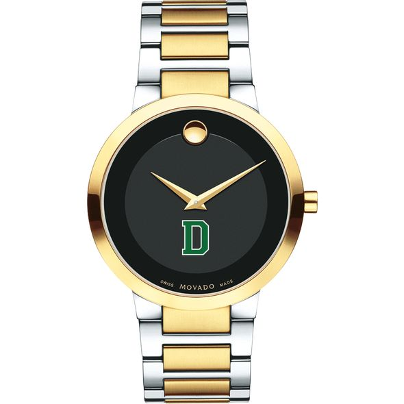 Dartmouth College Men's Movado Two-Tone Modern Classic Museum with Bracelet - Image 2