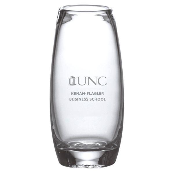 UNC Kenan-Flagler Glass Addison Vase by Simon Pearce