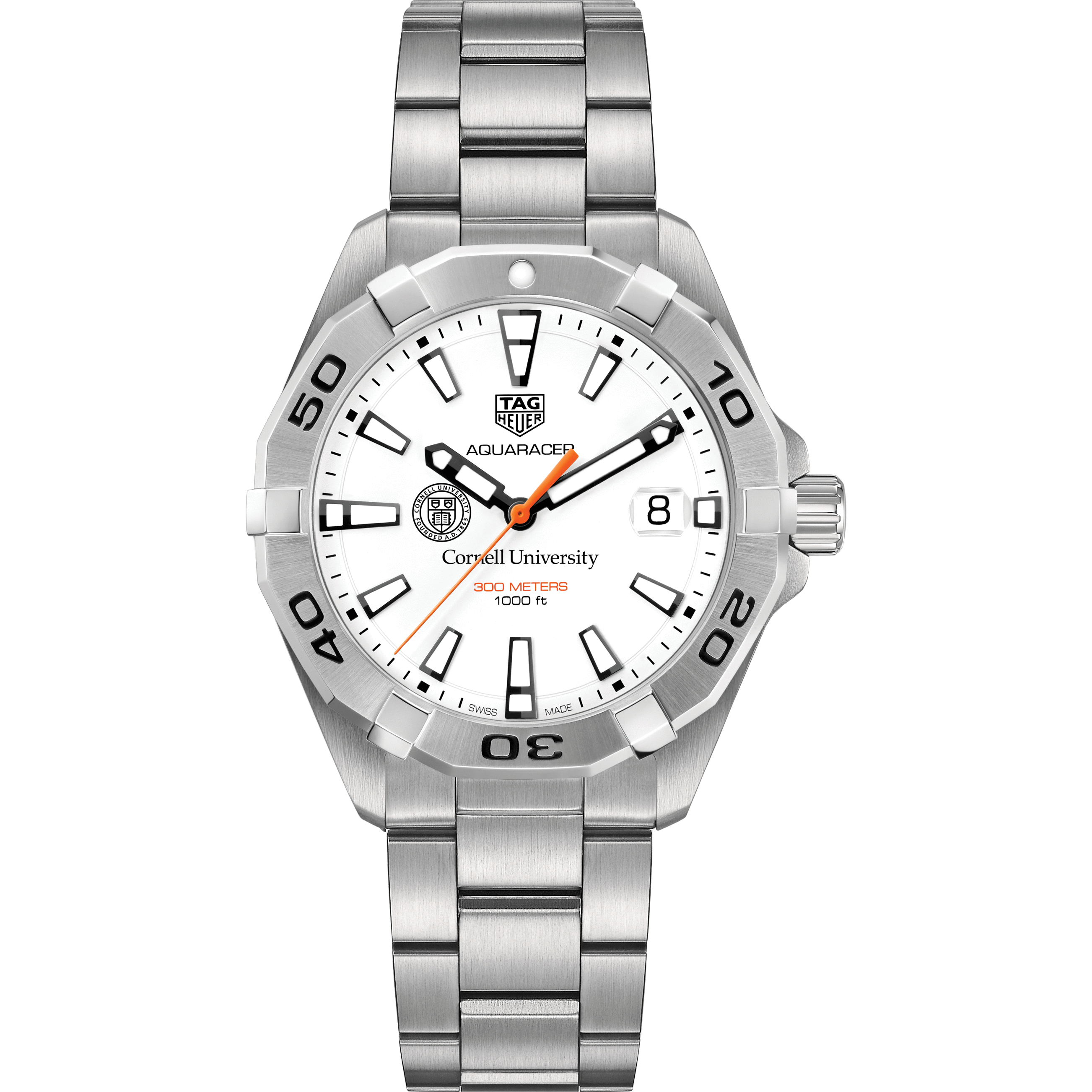 Cornell Men's TAG Heuer Steel Aquaracer - Image 2
