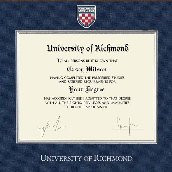 University of Richmond Diploma Frame - Excelsior - Image 2