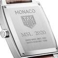 Yale University TAG Heuer Monaco with Quartz Movement for Men - Image 3