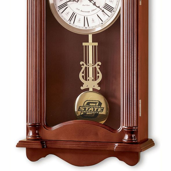 Oklahoma State University Howard Miller Wall Clock - Image 2