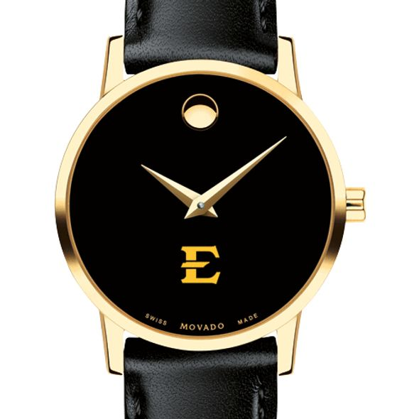 East Tennessee State University Women's Movado Gold Museum Classic Leather