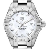 UNC Kenan-Flagler Women's TAG Heuer Steel Aquaracer with MOP Diamond Dial