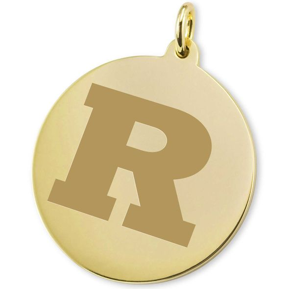 Rutgers University 18K Gold Charm - Image 2