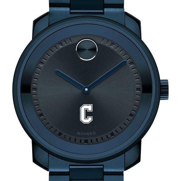 College of Charleston Men's Movado BOLD Blue Ion with Bracelet