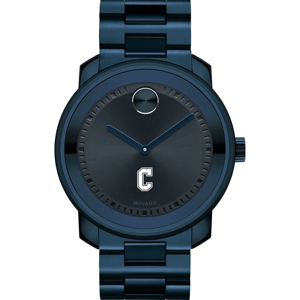 College of Charleston Men's Movado BOLD Blue Ion with Bracelet - Image 2