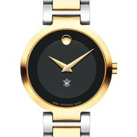 College of William & Mary Women's Movado Two-Tone Modern Classic Museum with Bracelet