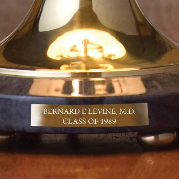 Brown University Lamp in Brass & Marble - Image 3