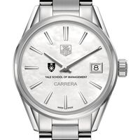 Yale SOM Women's TAG Heuer Steel Carrera with MOP Dial