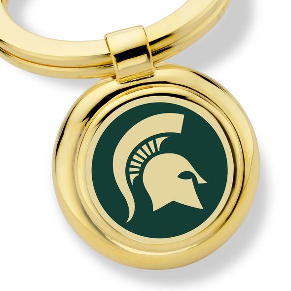 Michigan State Enamel Key Ring - Image 2