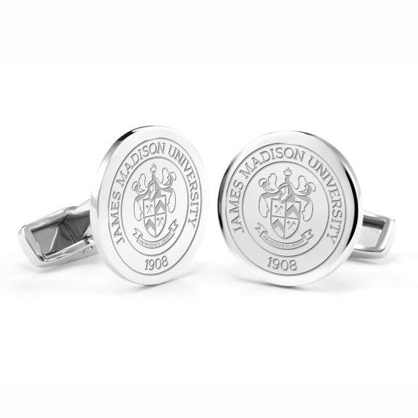 James Madison University Cufflinks in Sterling Silver