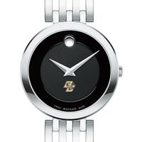 Boston College Women's Movado Esparanza Stainless Steel Museum with Bracelet