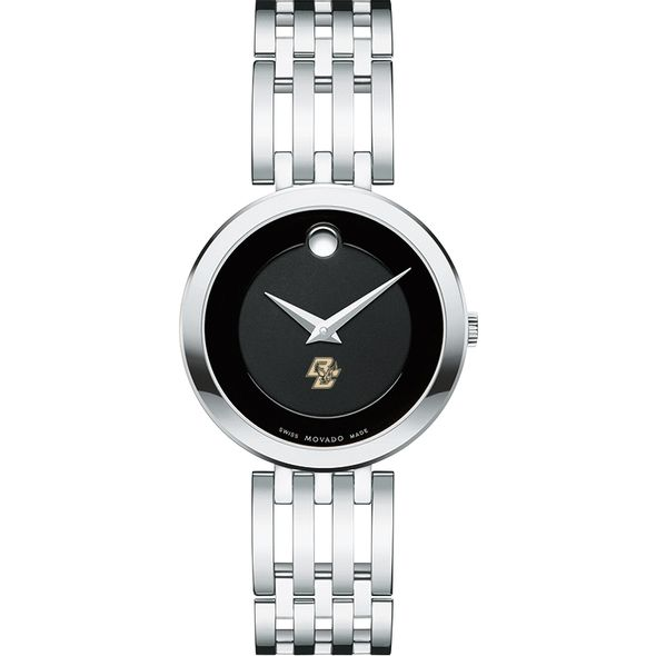 Boston College Women's Movado Esparanza Stainless Steel Museum with Bracelet - Image 2