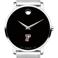 Fordham University Men's Movado Museum with Mesh Bracelet