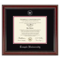 Temple Diploma Frame, the Fidelitas